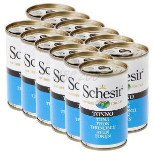 Schesir cat tuniak v želé 12 x 140 g
