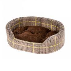 Ferplast Dandy P 65 pelech pre psa hnedý vzor 65 x 46 cm