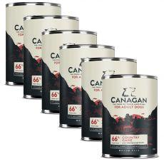Konzerva CANAGAN Country Game, 6 x 395 g