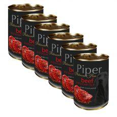 Konzerva Piper Platinum Pure hovädzie a hnedá ryža 6 x 400 g