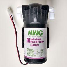 Booster pumpa pre Reverznú osmózu s 200 GPD membránou
