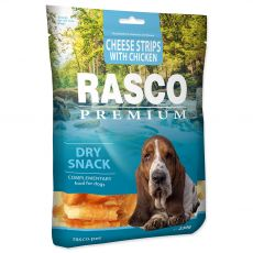 Rasco Premium Dry Snack Cheese Strips With Chicken 230 g