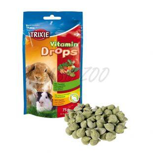 Pamlsok pre zajace - zeleninové dropsy, 75g