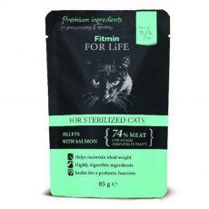 Fitmin Cat For Life Sterilized kapsička 85 g