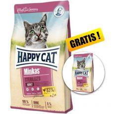 Happy Cat Minkas Sterilised 10 kg + DARČEK