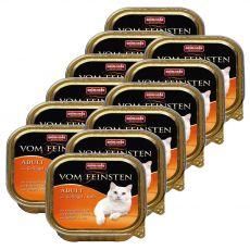 Animonda Vom Feinsten Adult Cats - s hydinou a teľacím 12 x 100g