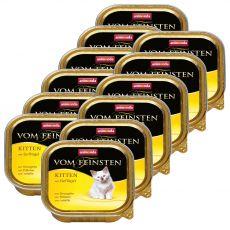 Animonda Vom Feinsten Kitten - hydina 12 x 100 g