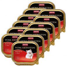 Animonda Vom Feinsten Kitten - hovädzie 12 x 100 g