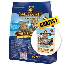 WOLFSBLUT Wild Pacific Puppy 15 kg + DARČEK