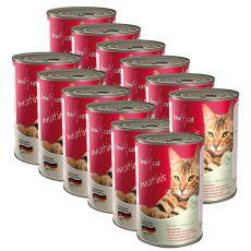Konzerva BEWI CAT Meatinis WILD 12 x 400 g