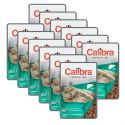 CALIBRA Cat Adult Sterilised kúsky s pečeňou v omáčke 12 x 100 g