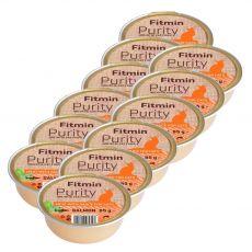 Fitmin Cat Purity lososová vanička 12 x 85 g