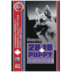 Granule pre šteňatá SAURUS 28 Puppy Chicken - 15kg
