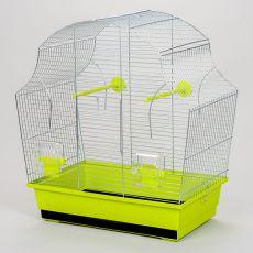 Klietka pre papagaja MARGOT II chrom - 50,5 x 28 x 54 cm