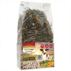 NATUREland BOTANICAL Herbs with vegetables 125 g