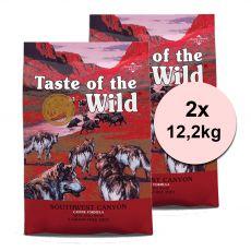 TASTE OF THE WILD Southwest Canyon 2 x 12,2 kg