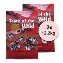 TASTE OF THE WILD Southwest Canyon 2 x 12,2 kg
