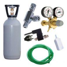 CO2 profi set 1,5kg s elektromagnetickým ventilom