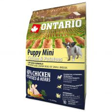 ONTARIO Puppy Mini - chicken and potatoes 2,25 kg