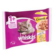 Whiskas Casserole Hydinový výber v želé 4 x 85 g