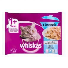 Whiskas Casserole Rybí výber v želé 4 x 85 g