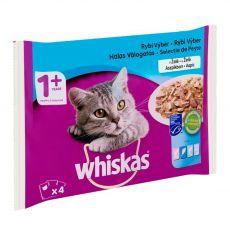 Whiskas Rybí výber v želé 4 x 85 g