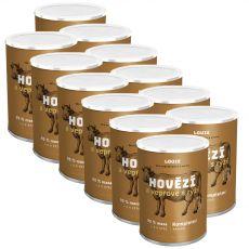 LOUIE Hovädzie a bravčové s ryžou 12 x 400 g