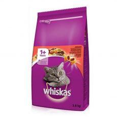 Whiskas hovädzie 3,8 kg