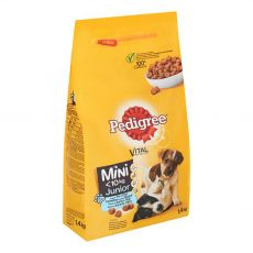 Pedigree Junior Mini kuracie mäso a ryža 2 kg
