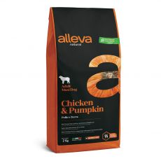 Alleva NATURAL dog chicken & pumpkin adult maxi 2 kg