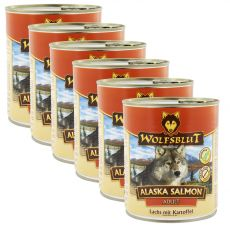 Konzerva WOLFSBLUT Alaska Salmon 6 x 800 g