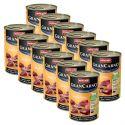 Konzerva GranCarno Fleisch Adult hovädzie + morka - 12 x 400 g