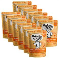 BARKING HEADS Bowl Lickin' Chicken GRAIN FREE 12 x 300 g