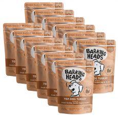 BARKING HEADS Top Dog Turkey GRAIN FREE 12 x 300 g