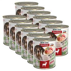 New BEWI DOG konzerva – Wild, 12 x 800g