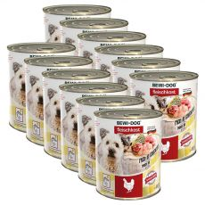 New BEWI DOG konzerva – Chicken, 12 x 800g