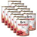 Konzerva Brit Paté & Meat Beef 12 x 800 g