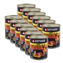 Konzerva ONTARIO pre psa, hovädzie, zemiaky a olej - 12 x 800g