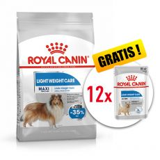 ROYAL CANIN Maxi Light Weight Care diétne granule pre veľké psy 10 kg + DARČEK