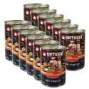 Konzerva ONTARIO Culinary Calf Ragout with Duck 12 x 400 g