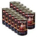 Konzerva ONTARIO Culinary Minestrone Chicken and Pork 12 x 400 g