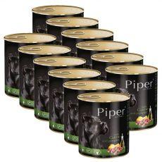 Konzerva Piper Adult s divinou a tekvicou 12 x 800 g