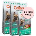 CALIBRA Dog Premium Line SENSITIVE 2 x 12kg + 6kg