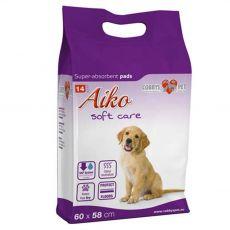 AIKO Soft Care podložky pre psov 14 ks - 60 x 58 cm