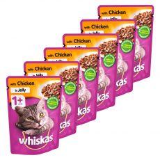 Whiskas kuracia kapsička v želé 6 x 100 g