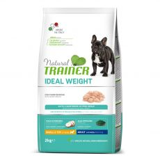 Trainer Natural Ideal Weight White Meats Adult Small & Toy 2 kg