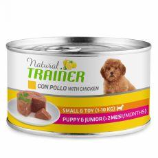 Trainer Natural Puppy & Junior Small & Toy kura 150 g