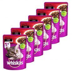 Whiskas hovädzia kapsička 6 x 100 g