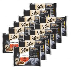 Sheba Selection Šťavnatý výber kapsičiek 12 x (4 x 85 g)