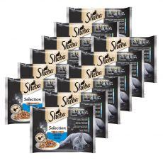 Sheba Selection Rybí výber 12 x (4 x 85 g)
